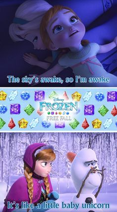 I love the gems in the Frozen Free Fall puzzle game on iOS. iOS: click image, Android: http://di.sn/h01o