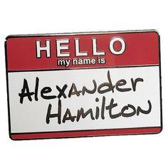 The Alexander Hamil-pin