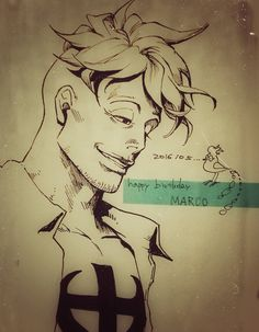One Piece, Marco