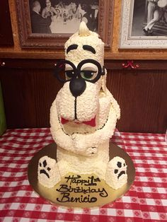 Mr.peabody cake
