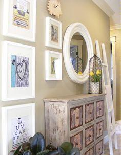 gallery wall | mini manor blog