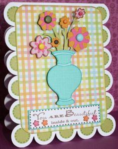 Cricut Kate's ABCs: flowers and vase