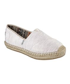 BOBS from Skechers Natural Bobs Lowlights Slip-On Shoe - Women by BOBS from Skechers #zulily #zulilyfinds