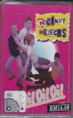 CASSETTE NEW COCKNEY REJECTS Oi! Oi! Oi! Punk Rock Oi Music Malaysia Release