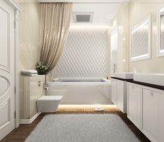 Bright bathroom idea