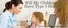 Will My Children Also Have Type 1 Diabetes? #health #diabetes #lifestyle  http://snip.ly/8Ots