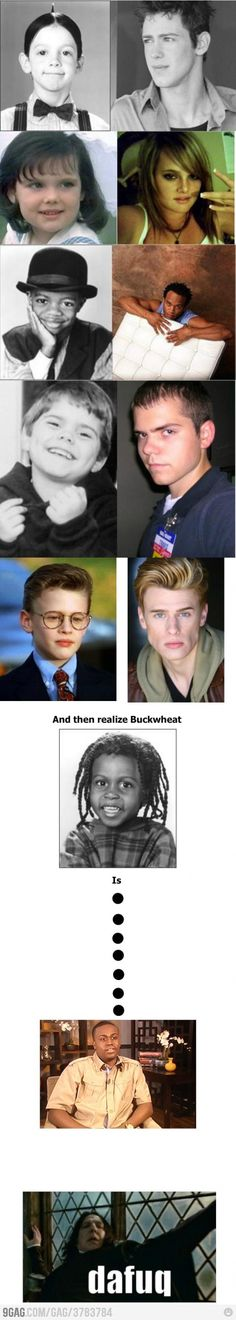 The Little Rascals Then & Now