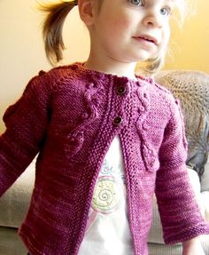 Kindling cardigan: Knitty First Fall 2011, free pattern