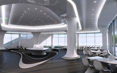 Des lieux de restaurations aux lignes des plus futuristes proposeront une vue imprenable sur la ville de Pékin.