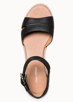 Marc O'Polo, Damen, Schuhe & Accessoires, Schuhe, Sandale, aus Kalbsleder