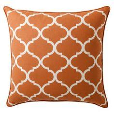 """Threshold™ Oversized Lattice Toss Pillow - 24x24"""""""
