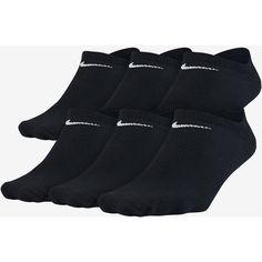 Nike Lightweight No-Show Socks (Medium/6 Pair). Nike.com (30 220 LBP) ❤ liked on Polyvore featuring intimates, hosiery, socks, nike socks and nike