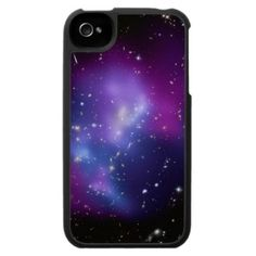 Galaxy Cluster MACS 0717 iPhone 4 Case