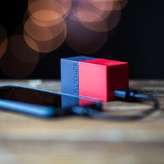 Check out the world's smallest combination battery backup AND wall charger. The Bolt comes to replace your standard wall charger and it is ready to charge your phone wherever you go. Just magic!