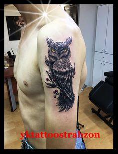 owl tattoos trabzon