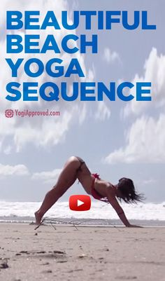 Beautiful Beach Yoga Sequence Video Beautiful Beach Yoga Sequence Video Patricia Gurrola Exercises Here is one of our favorite yogis Meghan Currie in might nbsp hellip Yoga Bewegungen, Yoga Flow, Yoga Meditation, Yoga Moves, Yoga Photos, Yoga Pictures, Beach Photos, Beautiful Yoga, Beautiful Beaches