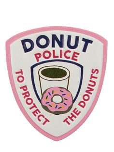 Check it out here: http://www.skinnydiplondon.com/collections/stickers/products/donut-police-plushie-sticker #skinnydiplondon