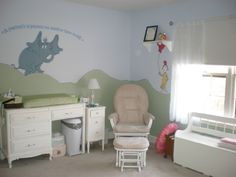 Why is it that I can see you and Katie doing this to your room?  Dr Seuss Nursery