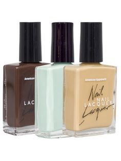 Nail Polish (3-Pack) | Shop American Apparel - StyleSays