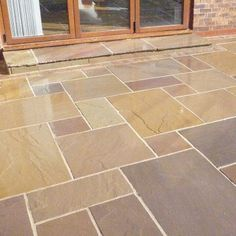 Indian Sandstone Paving – Delamere – Patio Pack – do pallet Garden Slabs, Garden Tiles, Patio Slabs, Patio Tiles, Garden Paving, Patio Stone, Garden Landscaping, Driveway Paving, Brick Patios