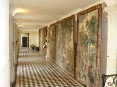 La grande galerie et ses tapisseries du XVIIIème.
