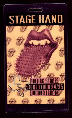 The Rolling Stones, Nov 13, 1994, Houston Astrodome