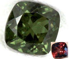 COLOURCHANGE GARNET FACETED 0.90 CTS  PG 311  color change garnet gemstone, faceted garnet