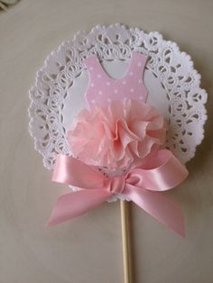 Custom Decorative Birthday Party Wand Round by JeanKnee on Etsy, $6.00