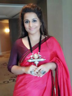 Vidya Balan, Brand  Ambassador, Melbourne Film Festival wearing Shruti Sancheti…