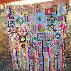 Gypsy Wife quilt, sewn by Samantha LaPorte