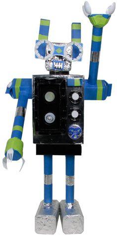 trash robot project from LooLeDo.com