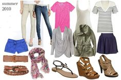 15 Pieces, 10 Outfits  -- I NEED to learn to do this before I go on my trip!!