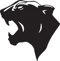 panther clip art   Mascot & Clipart Library - PANTHERS
