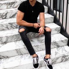 14 Amazing streetstyle looks! Streetwear Magazine, Magazine Man, Street Wear, Black Jeans, Street Style, Mens Fashion, Amazing, Inspiration, Outfits