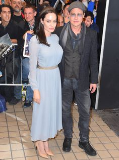 "Brad Pitt and Angelina Jolie are the picture perfect Hollywood couple at a screening of ""By The Sea""! 