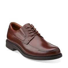 Drexlar Time in Dark Tan Lea - Mens Shoes from Clarks