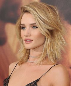 """The cut: The Modern Shag Celebrity inspiration: Rosie Huntington-Whiteley What it looks like: """"The key to ..."""