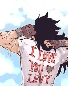 FAIRY TAIL - Gajeel x Levy