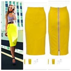 Burda style sewing pattern. http://www.burdastyle.com/pattern_store/patterns/022012-stretch-pencil-skirt