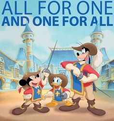 Today in Disney History: The Three Musketeers first fought for justice on this day in 2004
