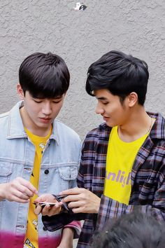 Hot Asian Men, Asian Guys, Complicated Love, Handsome Actors, Handsome Guys, We Are Best Friends, Cute Gay Couples, Thai Drama, Theory Of Love