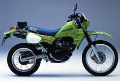 1984 KAWASAKI KLR600 (KL600-A1)  #motorcycles #motocicletas