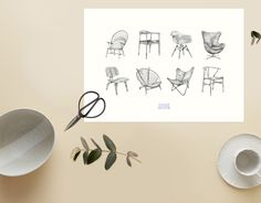 Helene Egeland // The chair collection heleneegeland.no