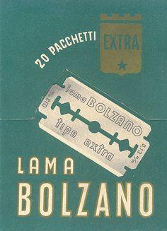 cartoncino pubblicitario - acciaierie di bolzano - lama bolzano by sonobugiardo, via Flickr