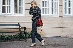 Street Style at Copenhagen Fashion Week - Gallery - Style.com