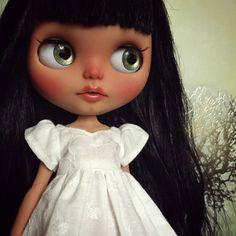 Custom Blythe Doll by Blythe & Shine OOAK Tan by BlytheandShine