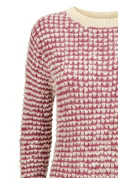 Hand knitted pink jumper in cotton, metallic wool. Also available in navy. Organic Cotton Yarn, Pink Jumper, Cotton Cardigan, Capsule Wardrobe, Hand Knitting, Knitwear, Men Sweater, People, Turtle Neck