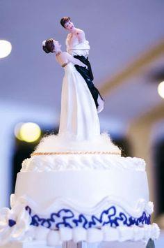 toppers muy originales para el pastel de boda