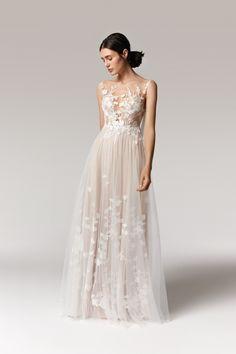Hippie Stil, European Wedding, Chiffon, French Lace, Bridal Boutique, Dream Dress, Bridal Collection, Elegant, White Lace
