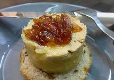 Entrante de manzana, foie y cebolla caramelizada